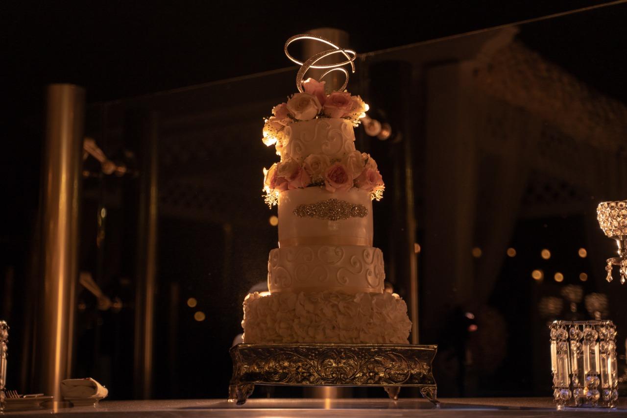 4 Tier Wedding Cake Stunning