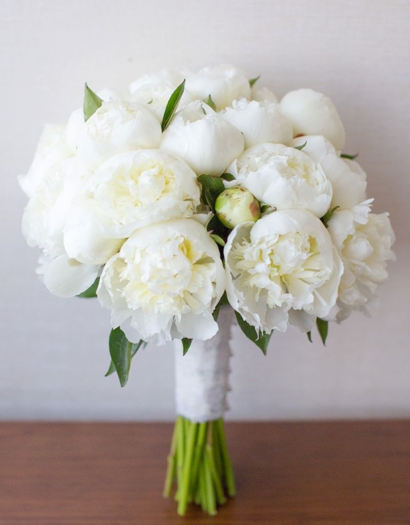 Bridal Bouquet Of 10 Peonies New