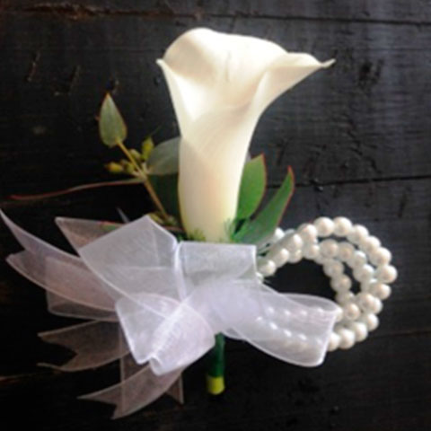 Ladies Faux Corsage