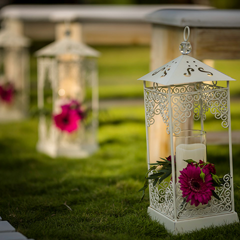 Lantern With Floral 2004