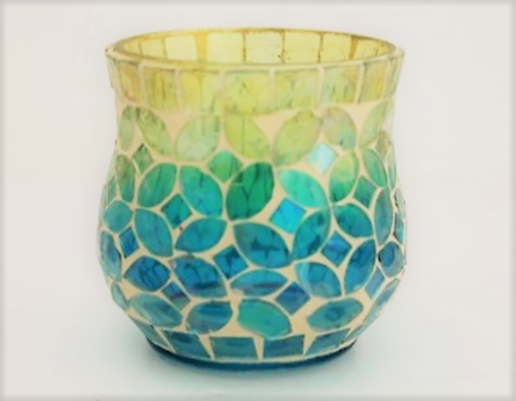 Stained Glass Mosaic Candle Holder With LED Votive.png