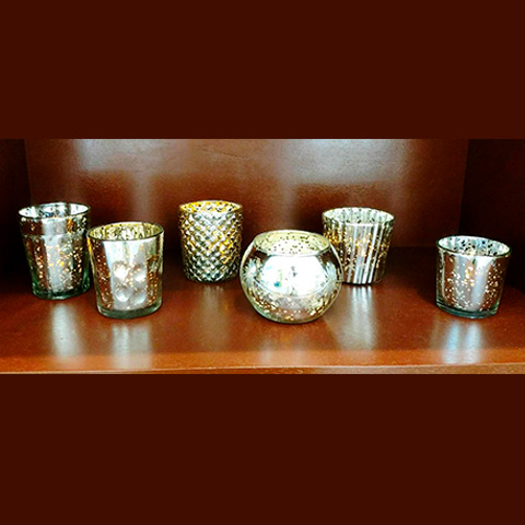 Vintage Mercury Glass