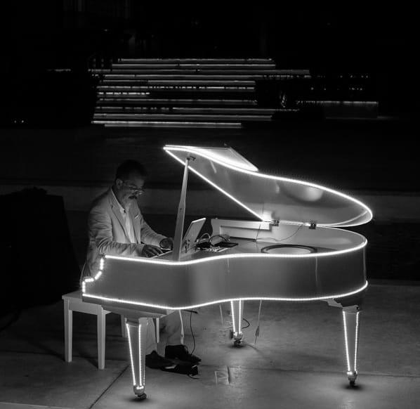 Baby Grand Piano Pianist