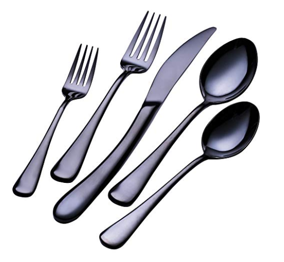 Black Steel Flatware2