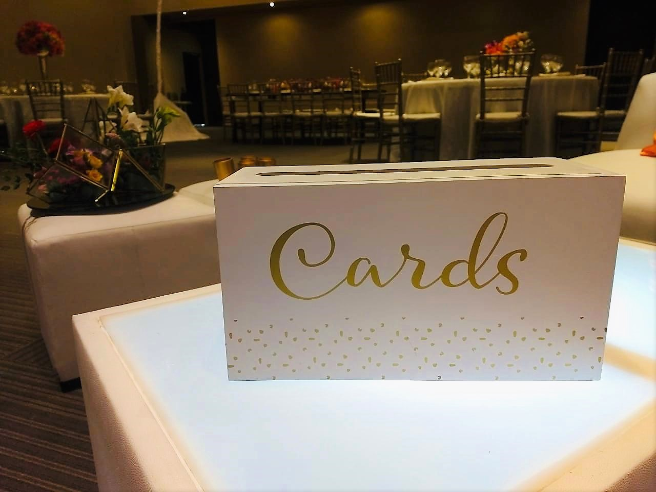 Cards Box White