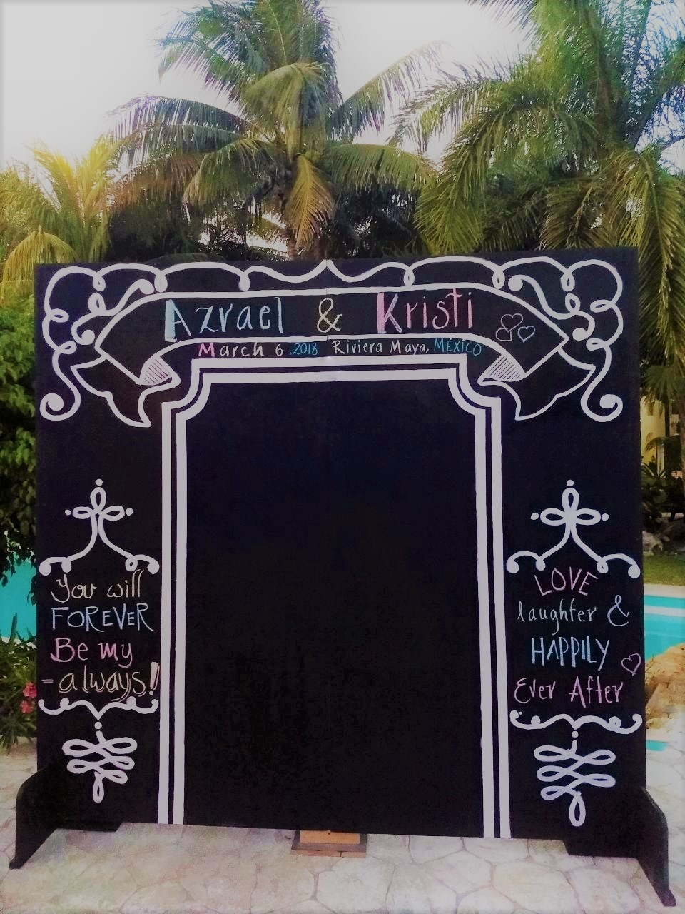 Chalkboard Large Sign