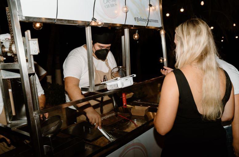 Churros & Waffles Cart