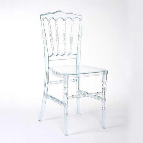 Clear Acrylic Napoleon Chair