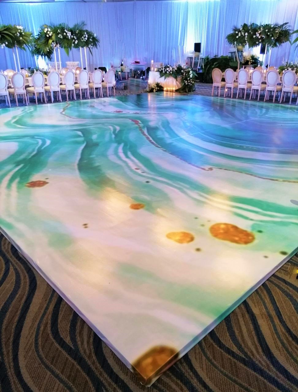 Decor Dance Floor Agua
