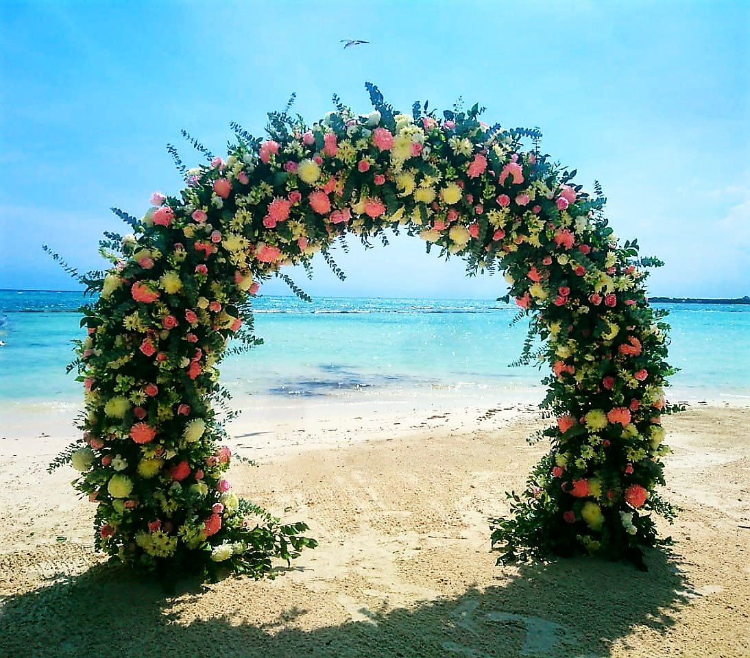 Deluxe Floral Arch