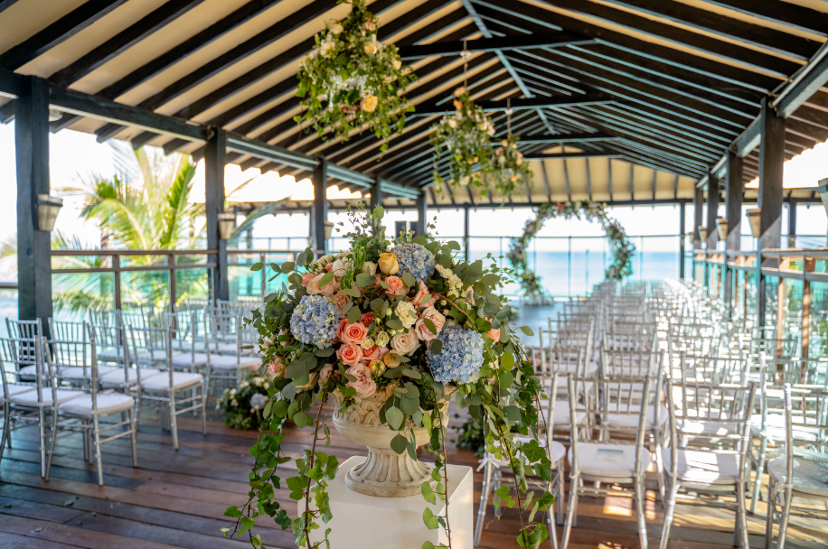 Eucalyptus And Floral Chandelier