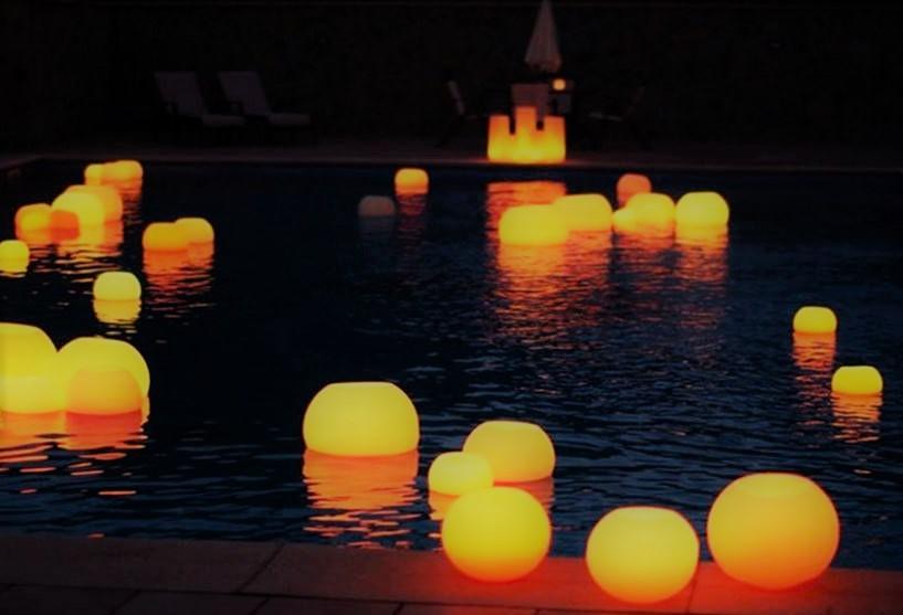 Floating Wax Lanterns
