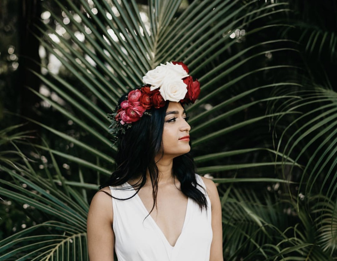 Frida Kahlo Floral Crown