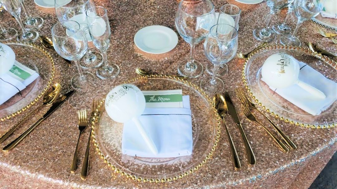 Gold Cutlery Sequins