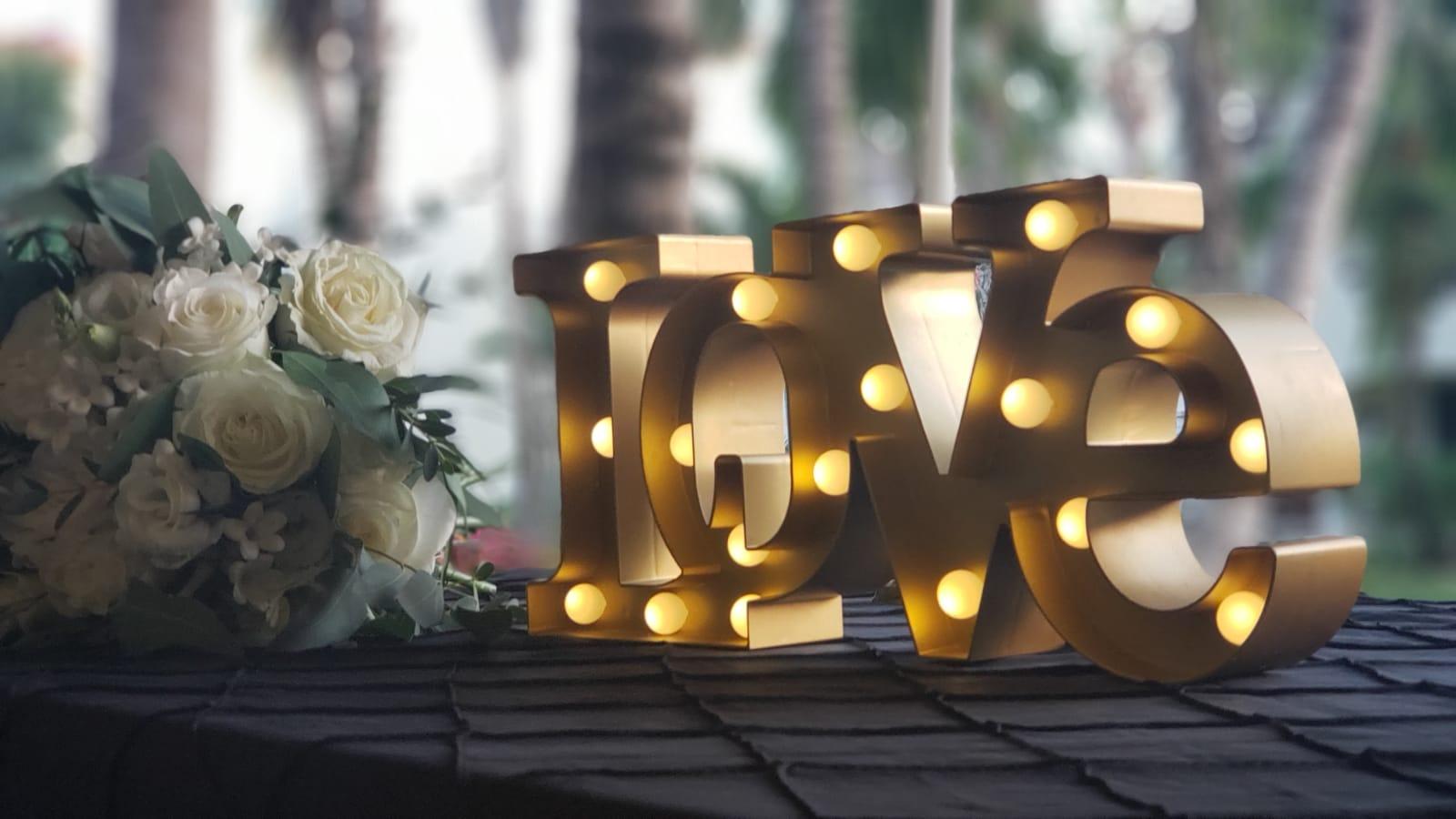 Love Sign Miniature