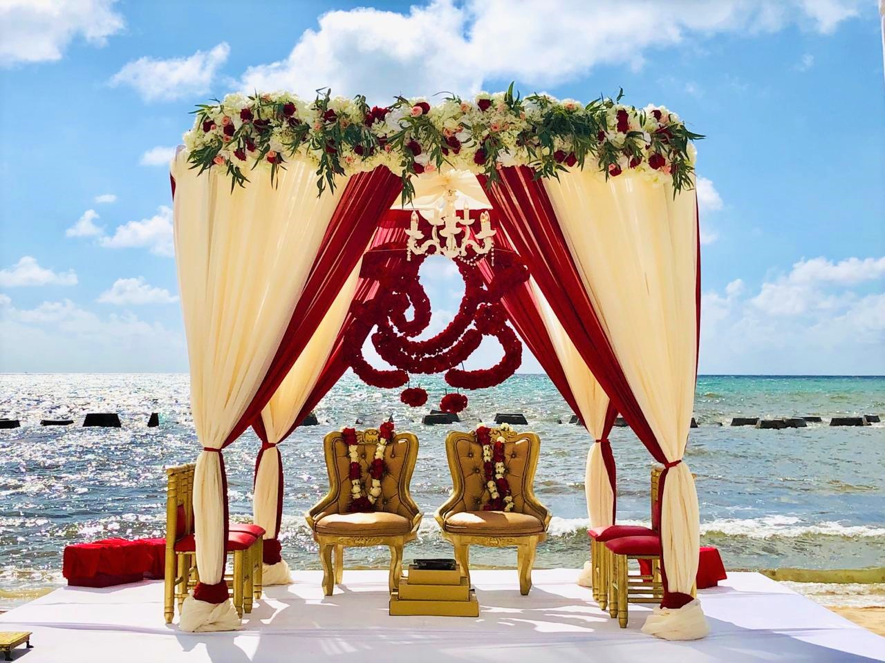 Mandap Beach Ceremony Grm3