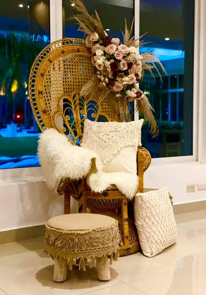 Mehndi Chair For Bride
