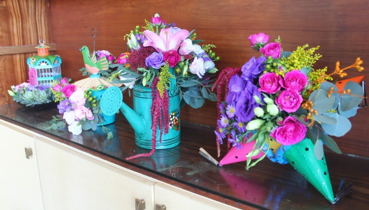 Mexican Assorted Centerpieces For Wedding.JPG