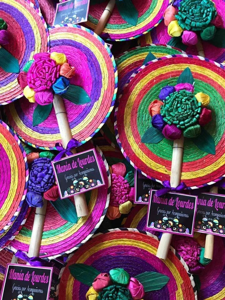 Mexican Hand Fans