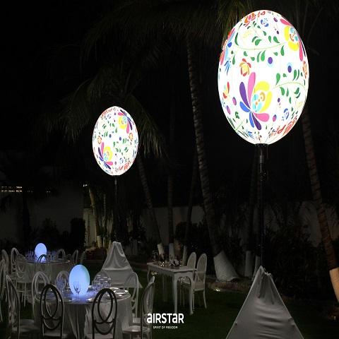 Mexican Motifs Crystal Ball