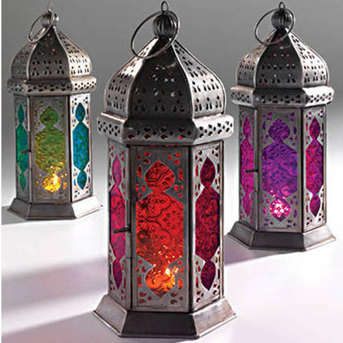 Moroccan Lanterns And String Lights