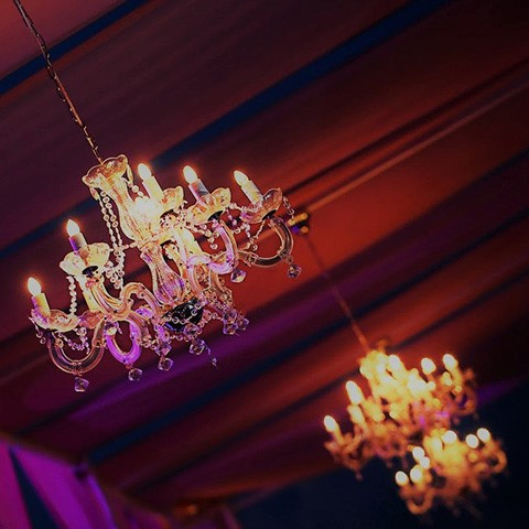 Pure Glamour Crystal Chandelier