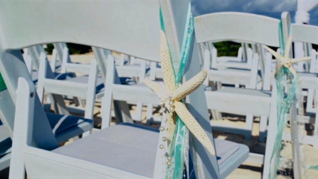 Starfish Chair Decor