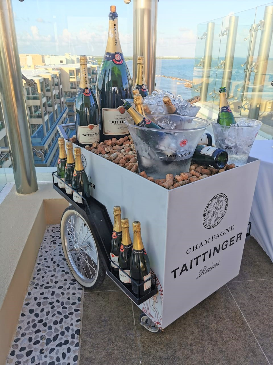 Taittinger Champagne Car
