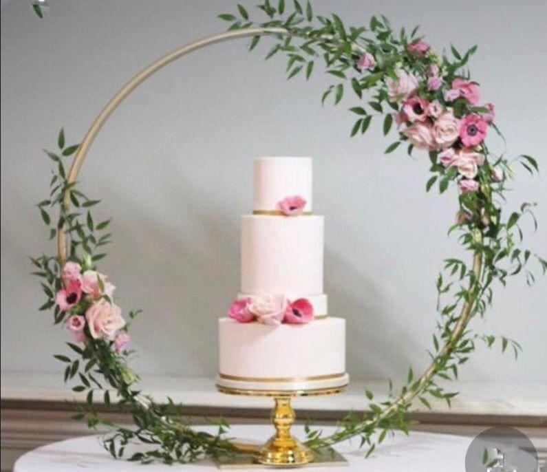 Wedding Cake Decorated Ring