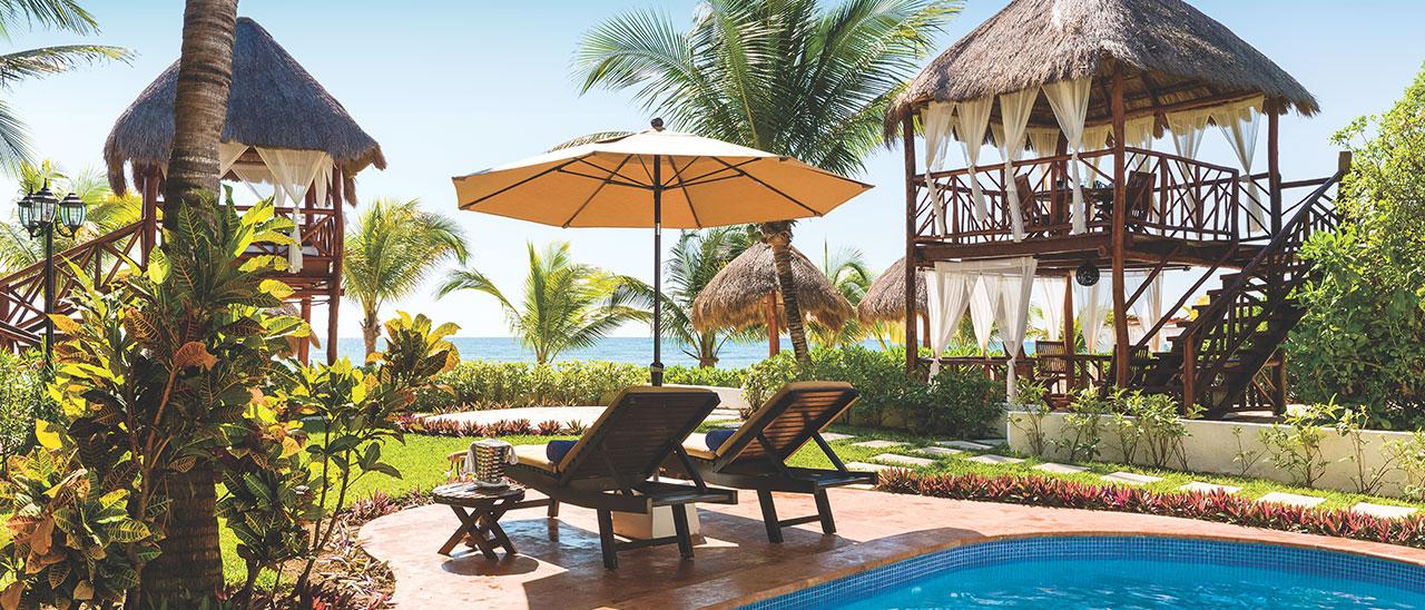 Luxury resorts in the riviera maya el dorado spa resorts for El dorado cabins